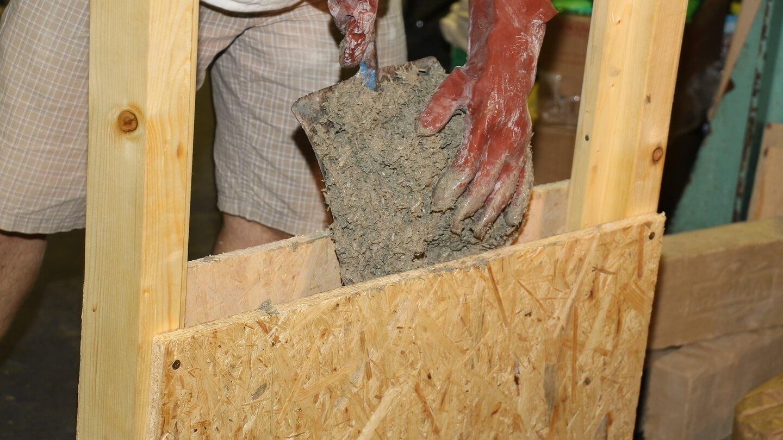 Für die bessere CO2-Bilanz das Haus vom Acker bauen, betonieren mit Hanf ist nachhaltig!