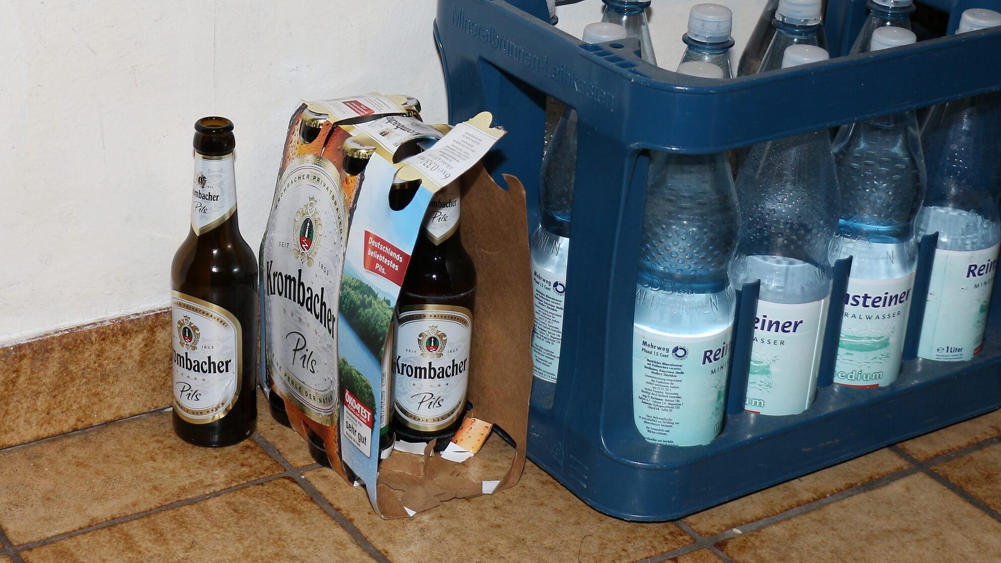 Allgegenwärtiger Alkoholkonsum – Bunkern ist legal, viele trinken sich durch den Lockdown