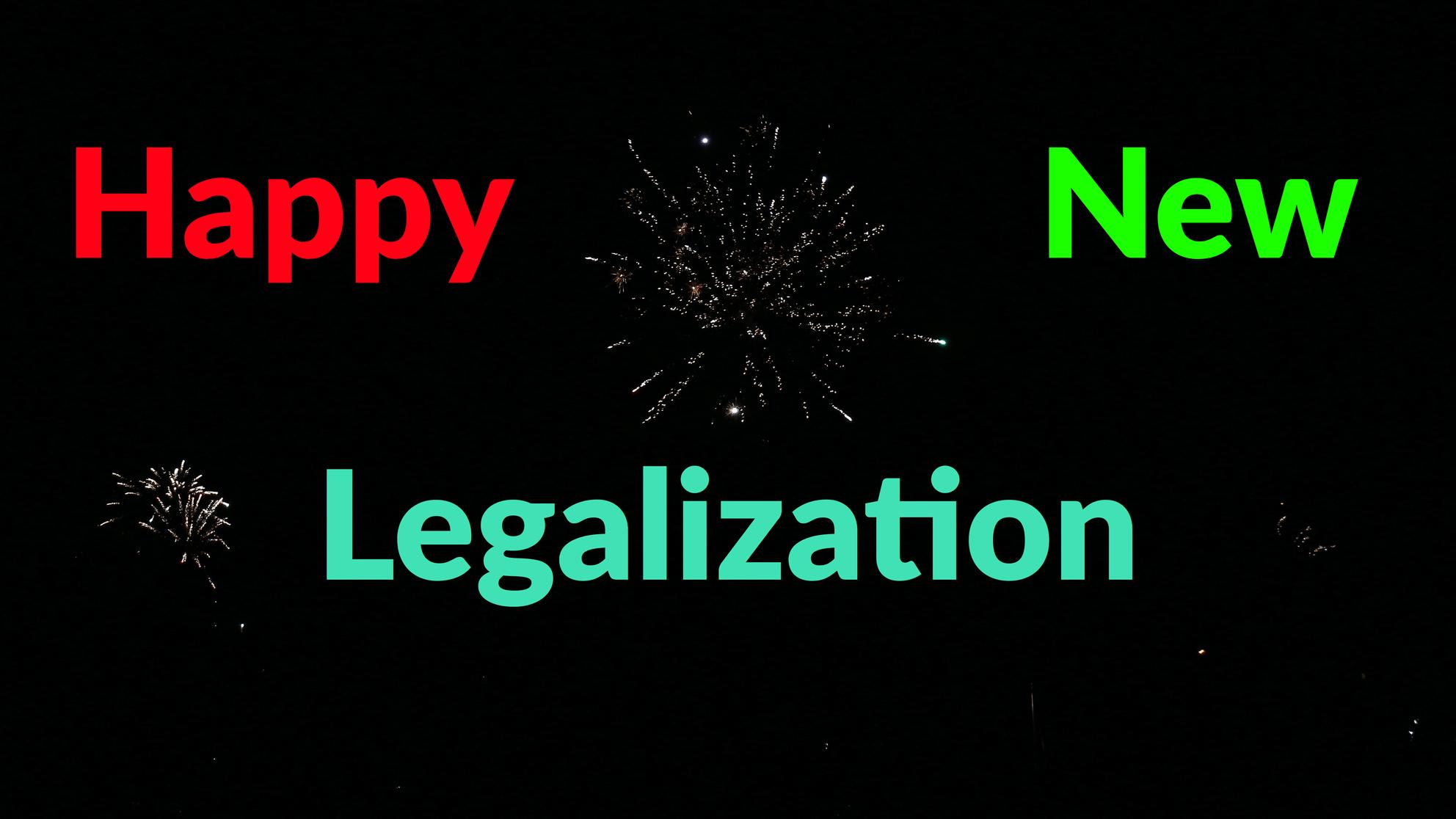 Hanftube wünscht allen den regulierten Markt mit legalem Eigenanbau – Happy New Legalization!