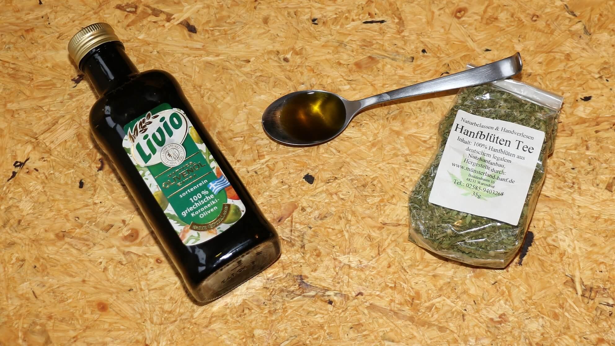 Für die medizinische Cannabis-Anwendung das eigene CBD-Olivenöl verwenden – es wirkt!