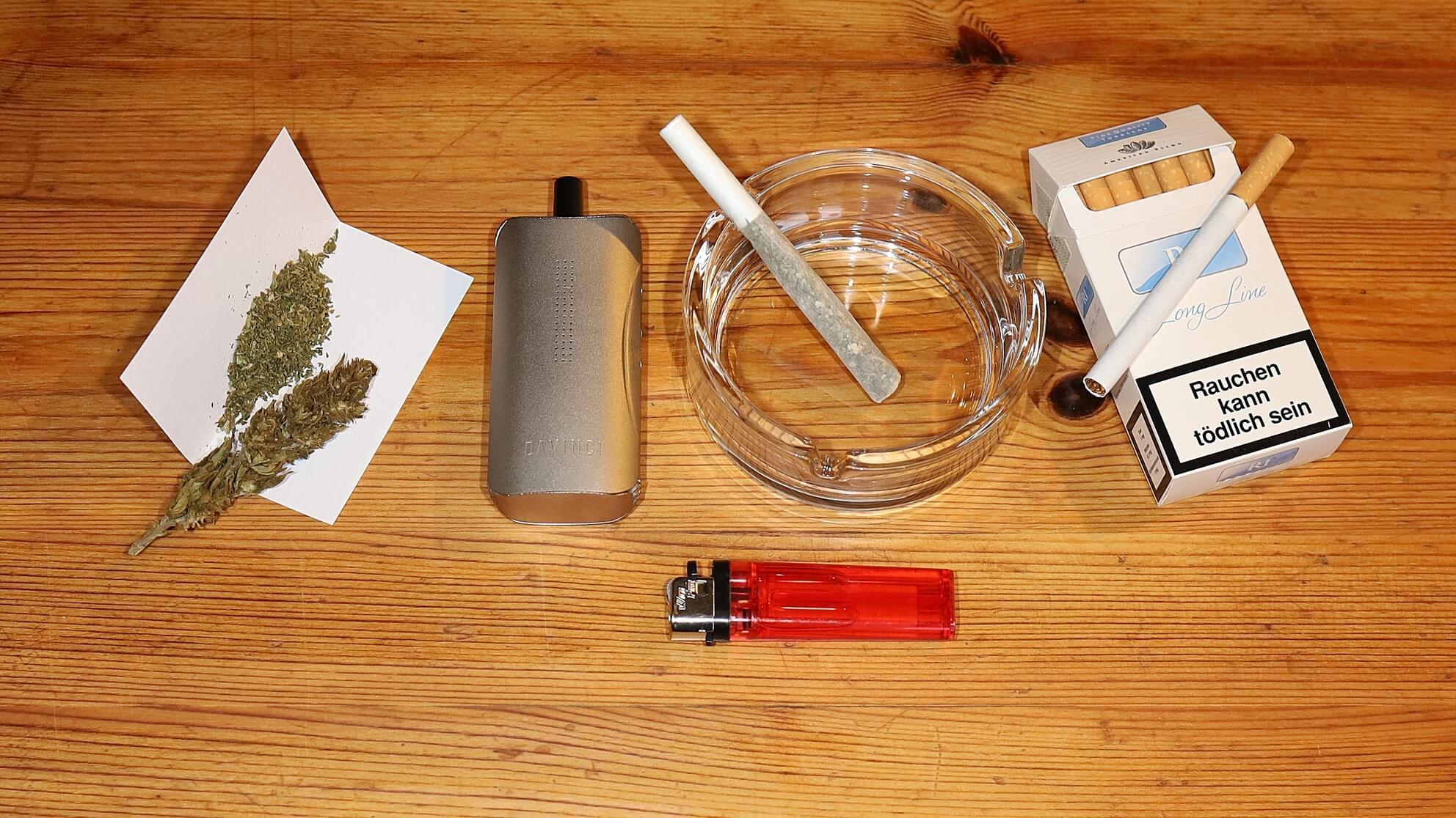 Gerade für die medizinische Einnahme von Cannabis ist auf Tabak zu verzichten