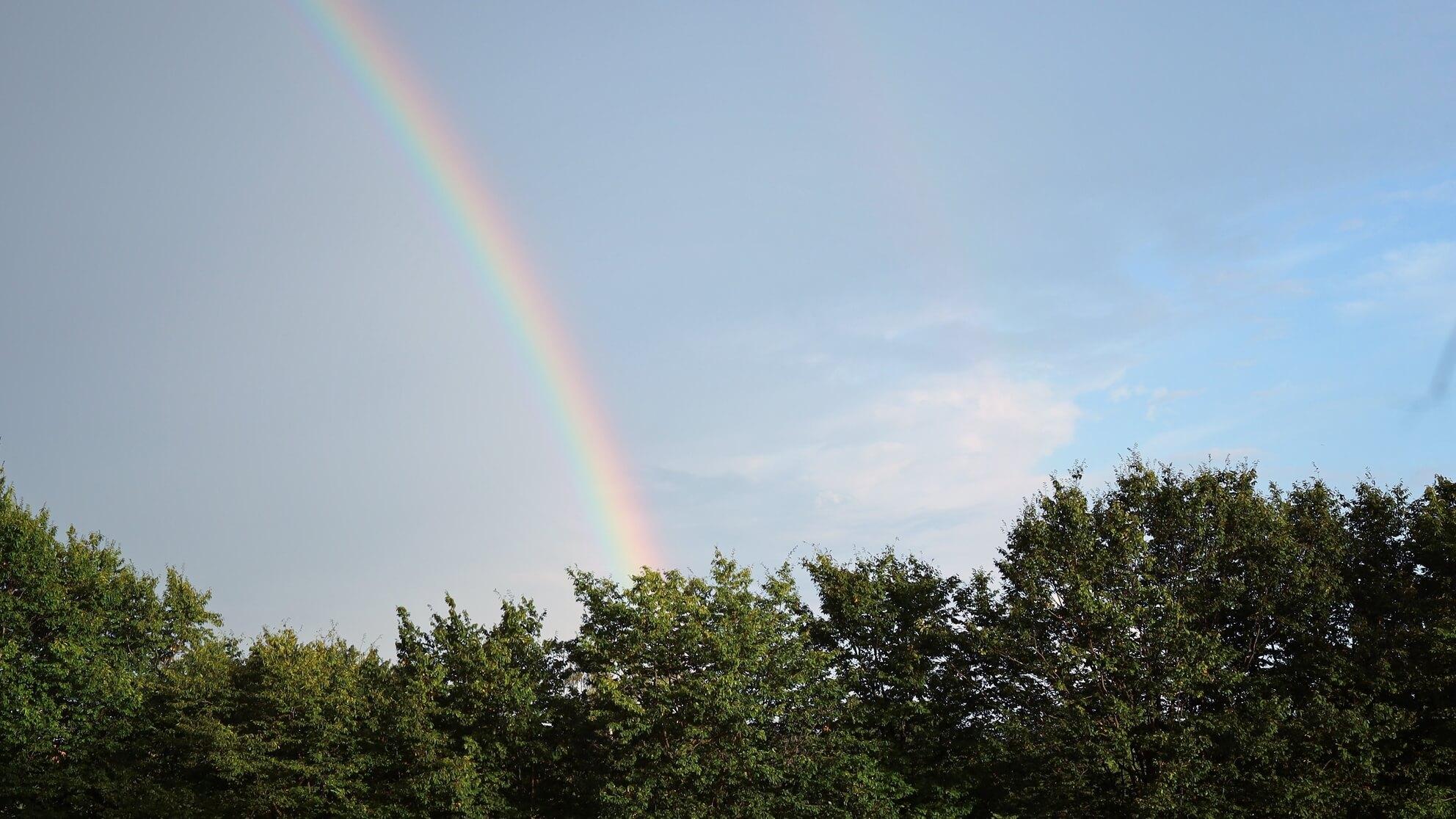 Im Regenbogen liegt die Hoffnung – wer durchhält, bekommt bald Methadon in der Krebstherapie