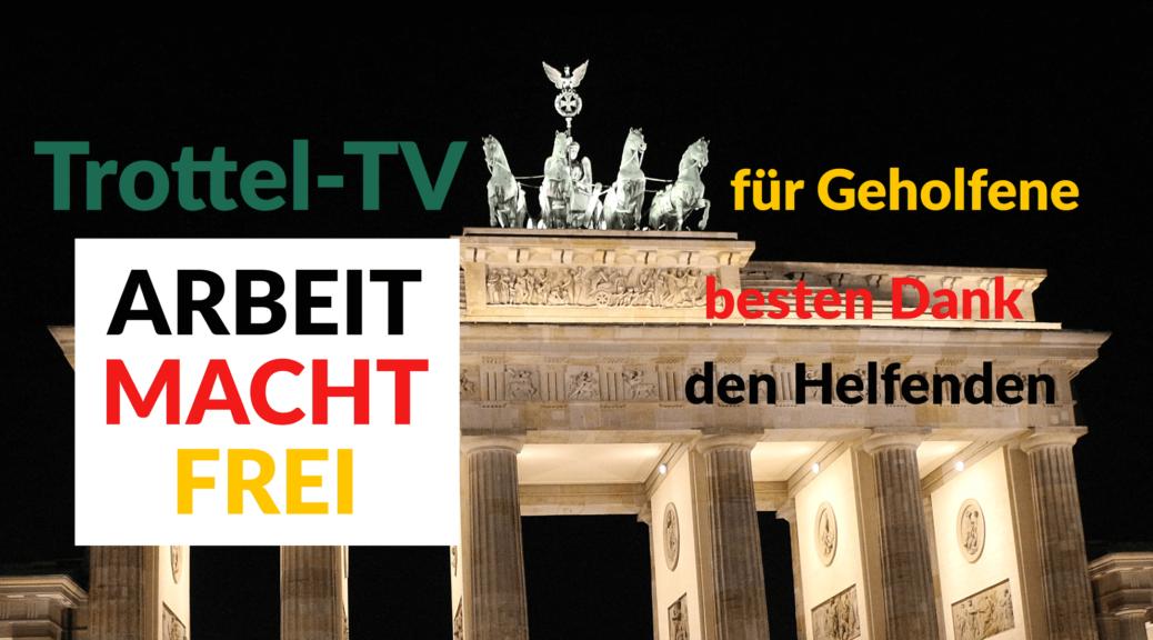 Trottel-TV Vorschaubild: Legalisierung für Arbeitsplätze und Steuern zahlen für Jugendschutz!